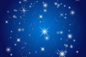 Blauwe kerst